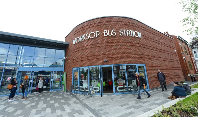 Worksop Bus Station: Swipe To View More Images