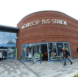 Worksop Bus Station: Click Here To View Larger Image